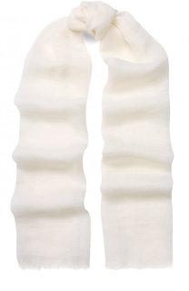 Льняной шарф с необработанным краем 120% Lino