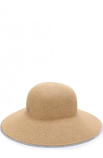 Шляпа с контрастной отделкой Eric Javits