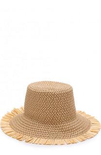 Шляпа с декоративной отделкой Eric Javits