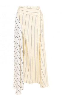 Юбка-миди асимметричного кроя из вискозы 3.1 Phillip Lim