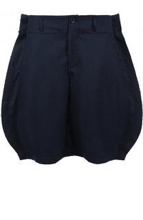Шерстяные шорты свободного кроя Comme des Garcons