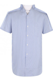 Хлопковая рубашка с короткими рукавами Comme des Garcons