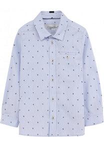 Хлопковая рубашка с принтом Tartine Et Chocolat