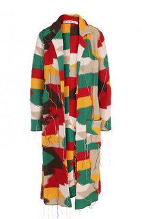 Вязаное пальто свободного кроя Marni