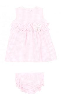 Комплект из платья с цветочной аппликацией и трусов Aletta