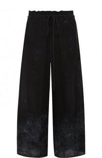 Укороченные шелковые брюки Raquel Allegra