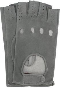 Замшевые митенки Sermoneta Gloves