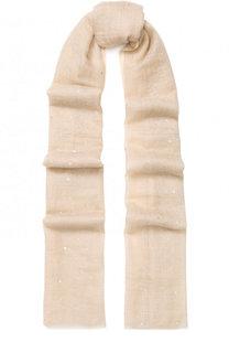 Кашемировый шарф с отделкой из страз Vintage Shades