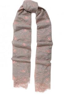 Кашемировый ажурный шарф Vintage Shades