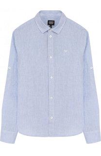 Льняная рубашка Armani Junior