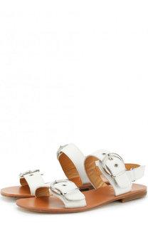Кожаные сандалии с ремешками Gallucci