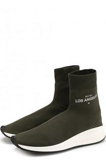 Текстильные кроссовки Fly To Los Angeles Joshua Sanders