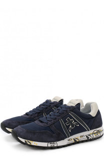 Комбинированные кроссовки Sky-D на шнуровке Premiata