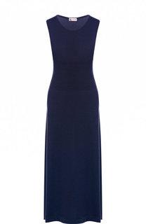 Приталенное кашемировое платье-миди без рукавов Colombo