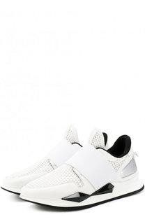 Комбинированные кроссовки с эластичной лентой Givenchy