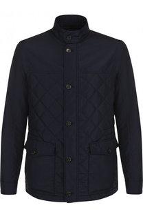 Стеганая куртка на молнии с воротником-стойкой Pal Zileri