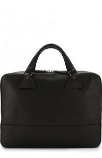 Кожаная сумка для ноутбука с плечевым ремнем Doucals