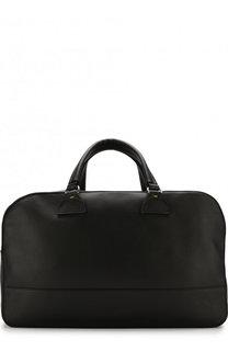 Кожаная дорожная сумка с плечевым ремнем Doucals