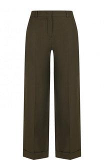 Укороченные хлопковые брюки со стрелками Loro Piana