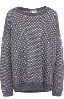 Пуловер из смеси кашемира и хлопка с шелком Colombo