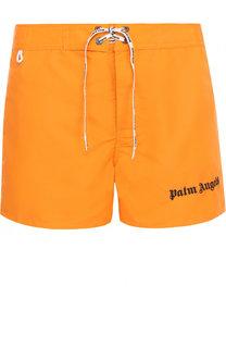 Плавки-шорты с отделкой Palm Angels