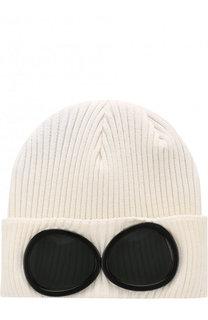 Хлопковая шапка фактурной вязки C.P. Company