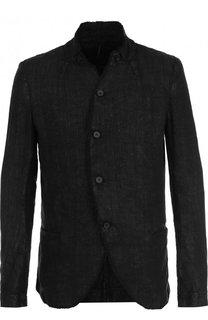 Однобортный льняной пиджак Masnada