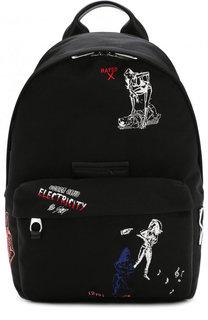 Текстильный рюкзак с вышивкой MCQ