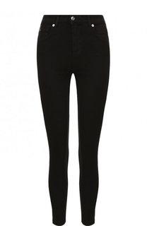 Однотонные укороченные джинсы-скинни 7 For All Mankind