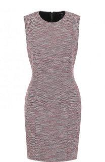 Приталенное буклированное мини-платье без рукавов Theory