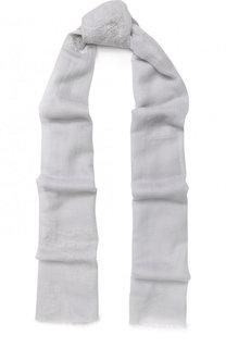 Шерстяной шарф с кружевной отделкой Vintage Shades