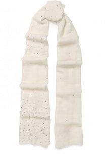 Шерстяной шарф с отделкой стразами Vintage Shades