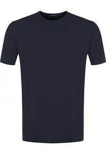 Хлопковая футболка с круглым вырезом Capobianco