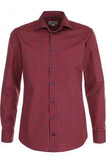 Хлопковая рубашка с воротником кент Eton