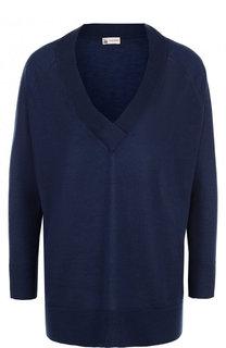 Пуловер свободного кроя из смеси кашемира и шелка Colombo