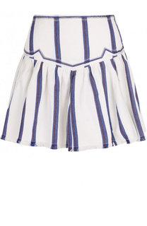 Хлопковая мини-юбка в полоску Isabel Marant Etoile