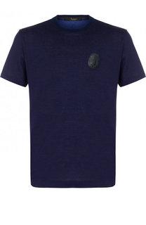 Хлопковая футболка с круглым вырезом Billionaire