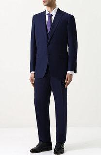 Шерстяной костюм-тройка Brioni