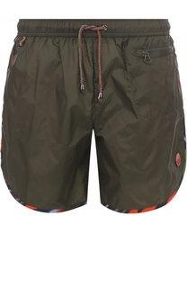 Плавки-шорты с контрастной отделкой Missoni