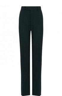 Шерстяные брюки прямого кроя со стрелками Balenciaga