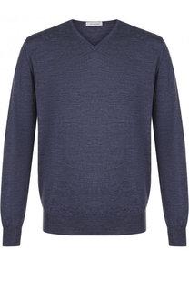 Пуловер из шерсти тонкой вязки Cruciani