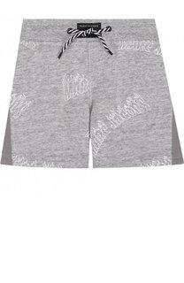 Хлопковые шорты с принтом Marc Jacobs