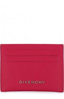 Кожаный футляр для кредитных карт с логотипом бренда Givenchy