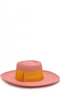 Соломенная шляпа с лентой Artesano