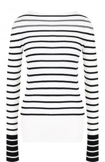 Приталенный пуловер из смеси хлопка и шелка с кашемиром MRZ