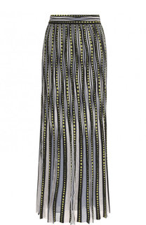 Вязаная юбка-макси в полоску M Missoni