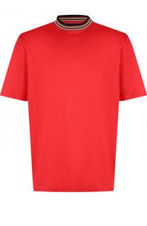 Хлопковая футболка с круглым вырезом Lanvin