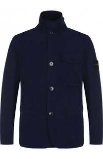 Куртка на пуговицах с отложным воротником Stone Island