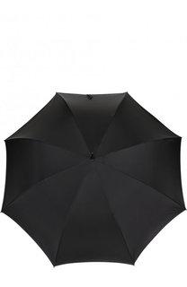 Зонт-трость с фигурной ручкой Alexander McQueen