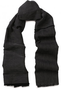 Льняной шарф в полоску Isabel Benenato